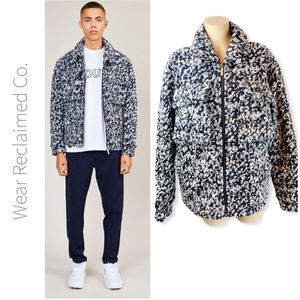 NATIVE YOUTH Men's Carrara Wool Blend Jacket